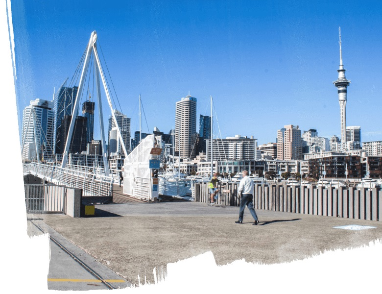 Auckland CBD Westhaven City View
